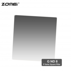 Zomei G ND8 Graduated Neutral Density Square Filter (Fit for Cokin Holder)